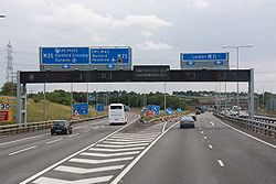M11 junction 6 - Geograph - 1487641.jpg