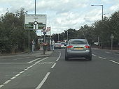 A2022 junction with primary route A21. - Coppermine - 8555.jpg