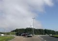Carland Cross roundabout from A39 - Geograph - 4043663.jpg