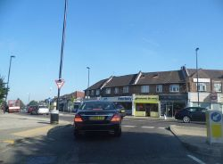 Green Dragon Lane at the junction of Ridge Avenue - Geograph - 3560944.jpg