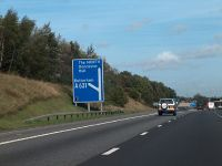 M18 heading northwards - junction with A631 - Geograph - 2095066.jpg