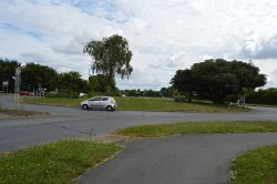 Roundabout, Westhampnett Rd - Geograph - 5657880.jpg