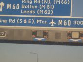 M62 J12 Eccles interchange sign - Coppermine - 18058.JPG