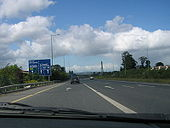 M50 Northbound, approaching J11 - Coppermine - 11874.JPG