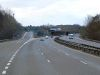 Southbound M6 at Junction 16 - Geograph - 3399511.jpg