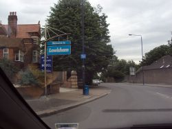 Lewisham Council Sign in Sydenham.JPG