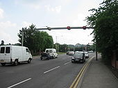 A15 Lincoln, Canwick Road Tidal Flow - Coppermine - 12573.JPG