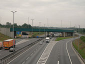 New approach road to Stansted Airport from M11 - Geograph - 233541.jpg