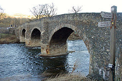 Yair Bridge, River Tweed - Geograph - 1685286.jpg