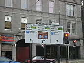 Aberdeen, Bridge Street Route Sign - Coppermine - 12939.JPG