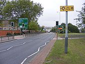 Ring Road Crossing - Geograph - 977486.jpg