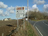 B999 Road junction - Geograph - 773678.jpg