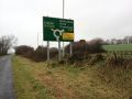 Old A386 Westleigh roundabout sign.jpg