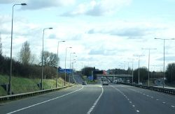 Approaching Junction 15 - Geograph - 4323738.jpg