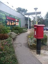 Fleet- postbox № GU51 334, M3 Services - Geograph - 1193432.jpg
