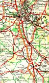 Scans from Oldhams 'NEW' Road Atlas (1963) 6. M6 - Coppermine - 238.jpg