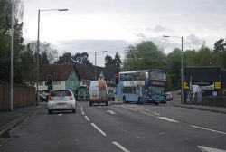 Junction of A22 and A264, Felbridge - Geograph - 2947761.jpg