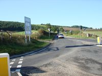 Staxton hill from the A64 - Geograph - 1474788.jpg
