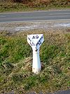 Old A9 Milepost showing Inverness and Perth - Coppermine - 11220.JPG