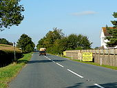 B4213 west of Tirley - Geograph - 1501471.jpg