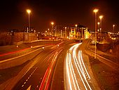 The Leeds Inner Ring Road at night - Coppermine - 7304.jpg