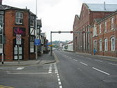 A15 Lincoln, Canwick Road Tidal Flow - Coppermine - 12561.JPG