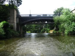 A36 crosses River Avon (C) Alex McGregor - Geograph - 3566177.jpg