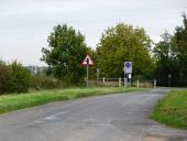 Road junction near Woolley - Geograph - 2131351.jpg
