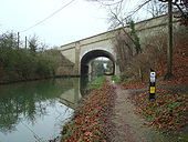 A40 from Oxford Canal looking south - Coppermine - 16233.jpg