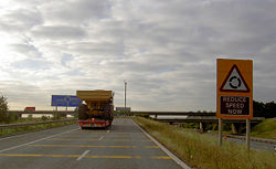 Piggy back onto the M18 - Geograph - 546085.jpg