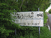 Scottish Signs - Old Sign on the A75 - Coppermine - 453.jpg