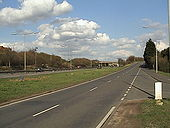 A127 slip road from A128 - Coppermine - 5476.jpg