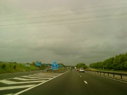 Junction 10 on the M42 - Geograph - 1888042.jpg