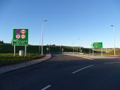A90 AWPR - Milltimber Junction - Roundabout northbound exit.jpg