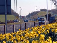 A77 South (Holmston Roundabout, Ayr) - Geograph - 344551.jpg