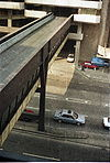 Bristol 1988 Bridge to NCP from Castle street - Coppermine - 12092.jpg