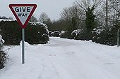 Give way - if you can - Geograph - 1667171.jpg