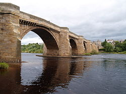 The Bridge at Corbridge from the east side - Geograph - 1561177.jpg