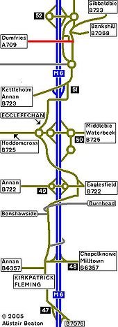 2010 Strip Map of the A74 II - Coppermine - 2514.JPG