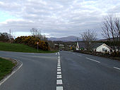 Road Junction on the A 4086 - Geograph - 152931.jpg