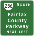 Va-286-fairfax-co-pkwy-next-left-sign.png