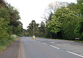 Former A45 at Dunchurch - Geograph - 1294250.jpg