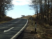 The A828 Ballachulish to Connel road - Geograph - 1709612.jpg