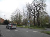 Ridley's Corner Roundabout, Pound Hill - Geograph - 4448403.jpg