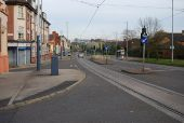 Tramlines on Infirmary Road, Sheffield - Geograph - 784151.jpg