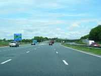 M6 northbound at Junction 36 - Geograph - 3504161.jpg