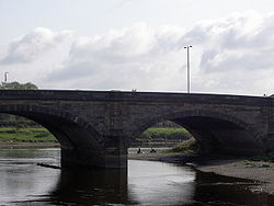 Walton Bridge, with fishermen beyond - Geograph - 557152.jpg