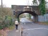 Merrow railway bridge - Geograph - 302403.jpg