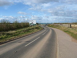 Looking back on the B6370 - Geograph - 1221106.jpg