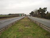 A45 near A4071 Blue Boar Junction - Coppermine - 16960.jpg